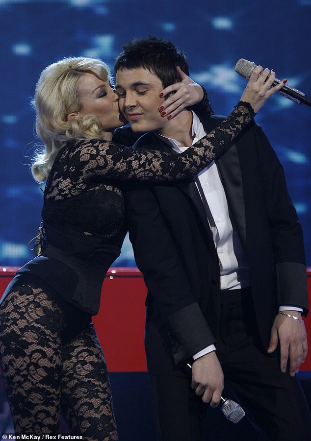 Leon Jackson was mentored by Dannii Minogue, and performed with her sister Kylie in the final