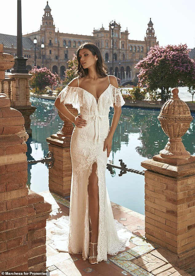 Oozing femininity and undeniable glamour, Georgina's ultra-feminine designs are what dreams are made of