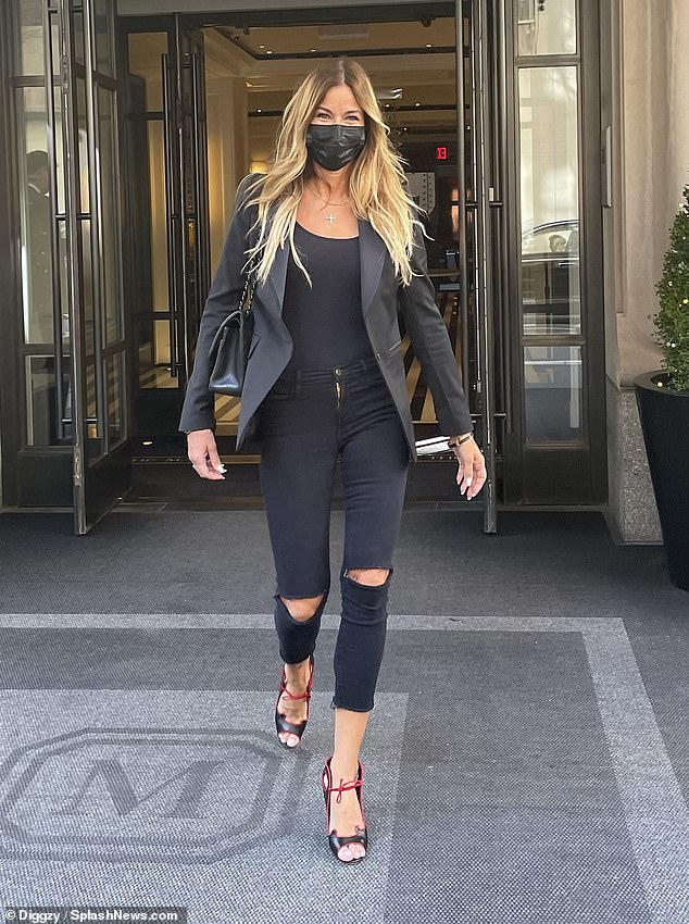 Fit for a Real Housewife Of New York City: Kelly Bensimon, 52, was spotted enjoying an outing in the Big Apple's toniest neighborhood this Wednesday