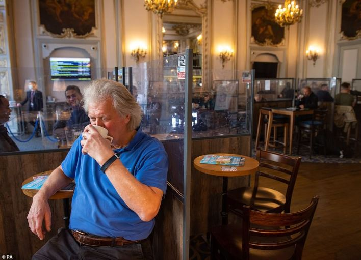 JD Wetherspoon boss Tim Martin said the new rules banning outdoor payment showed the Government had 'lost the plot with its control freakery'