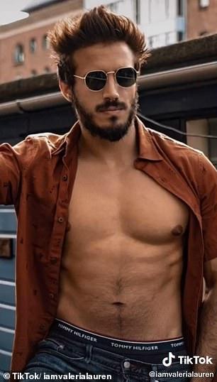 Pictured: Valeria's boyfriend now