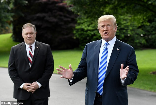 Pompeo is a potential 2024 GOP presidential candidate - as is Trump himself and former Vice President Mike Pence