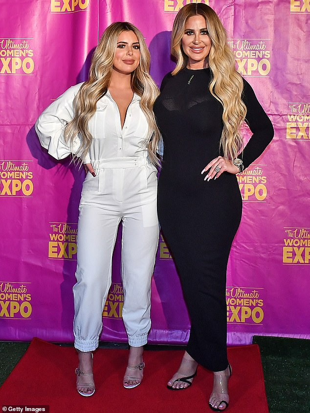 Side by side: Kim Zolciak's (right) daughter Brielle Biermann (left) and Teresa Giudice's daughter Gia Giudice have landed a new gig