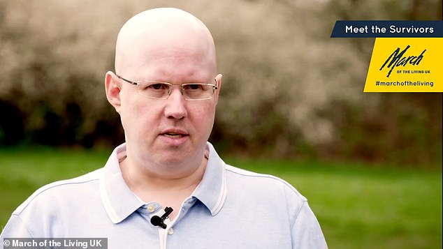 The five separate videos will also feature comedian Matt Lucas (above) in conversation with Holocaust survivors