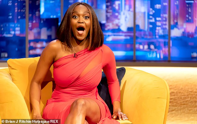 Surprise!Oti Mabuse, 30, has said that out of her three siblings, she's not the best dancer - nor is it her older sister, Strictly judge Motsi Mabuse, 39 - but their middle sister Phemelo