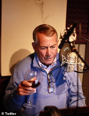 John Boehner is a chain smoker who enjoys red wine