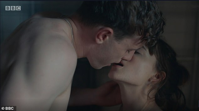 Advice:The advice further stipulates that CGI technology shouldn't be used to 'sex up' without the consent of the actors concerned (pictured, a sex scene from BBC's Normal People)