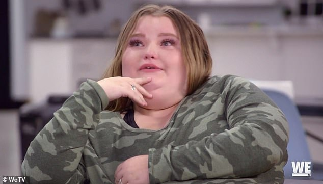 Heartbroken: Alana 'Honey Boo Boo' Thompson burst into tears as she confronted struggling mom June 'Mama June' Shannon about her drug use and absent parenting in clip from Friday's episode of Mama June : Road To Redemption