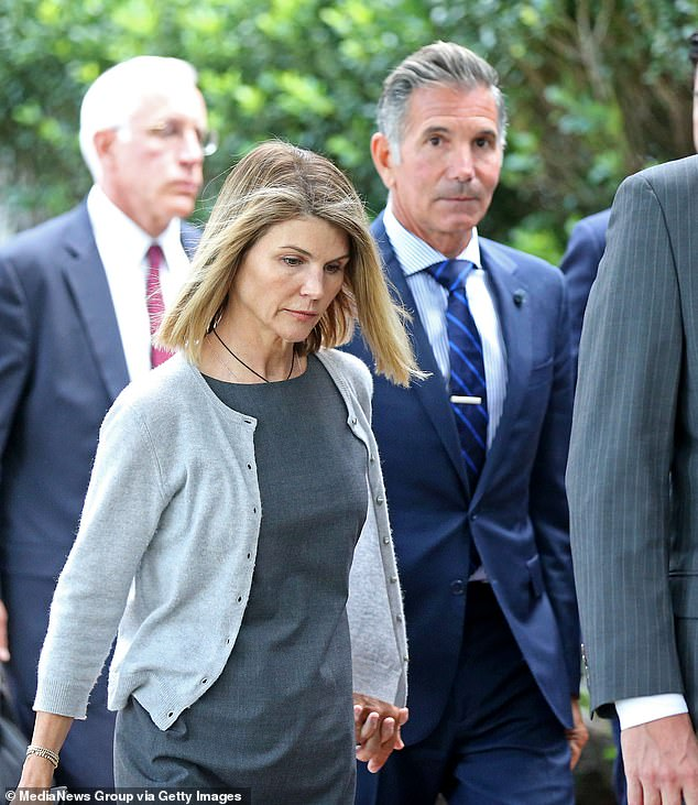 Scandalous: Loughlin and Giannulli initially pleaded not guilty, claiming they believed they were making a legitimate contribution to USC with their $500,000 payment to Singer
