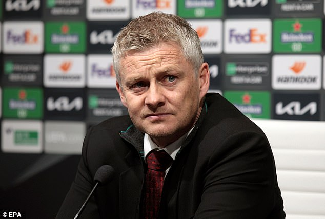 Solskjaer has insisted that half-fit Rashford 'should be' ready for United's clash with Tottenham