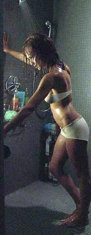 BEFORE: In the 2010 film Machete, star Jessica Alba's underwear was digitally removed, giving the appearance that she was naked