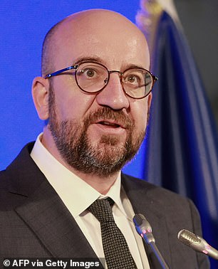 Erdogan¿s treatment of von der Leyen was a deliberate snub ¿ all the more pointed, since one of the items up for discussion on the summit agenda was his government¿s disrespect for women¿s rights. Which brings me to the extraordinary conduct of Mr Michel, pictured, the former Belgian prime minister who took over from Donald Tusk at the European Council at the end of 2019