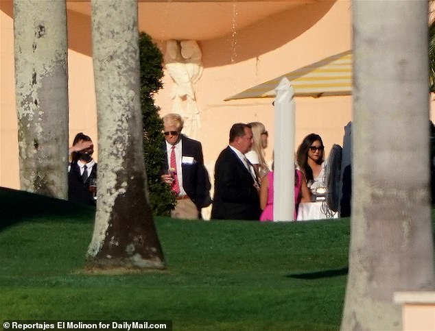The event comes amid a string of fundraisers held at Trump properties including Mar-a-Lago