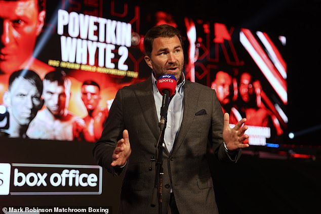 However, Hearn insists that plans remain for two fights this year, with the first in the summer