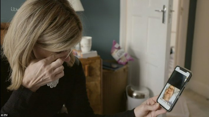 Milestones:Later in the documentary, it showed footage of Derek breaking down in tears and mouthing the word 'pain' after waking from his coma with Kate left crying over the milestone