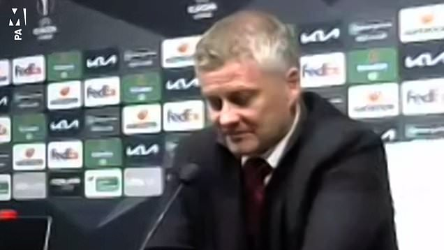 Solskjaer Granada post-match press conference