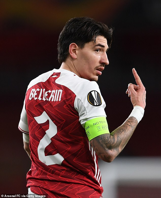Arsenal's Hector Bellerin (above) admitted 'teams are not beating us, it's us losing the games