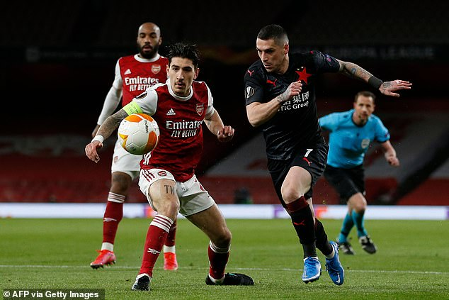 Bellerin remains confident that Arsenal will get the 'job done' during their second leg