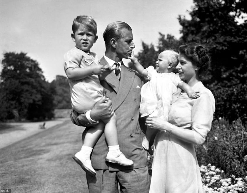 Just as portrayed in the series,the royal's desire for Elizabeth and his children to have the surname Mountbatten was said to have been a sore-point for him