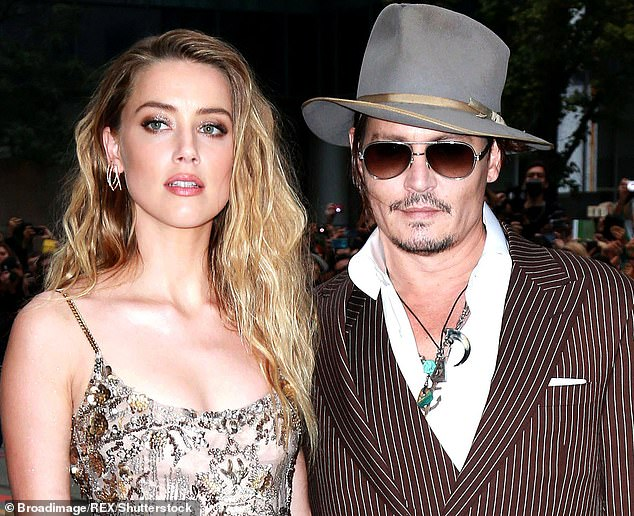 As seen in 2015: The 34-year-old is locked into a multi-year feud with ex-husband Johnny Depp in which they denied each other's explosive allegations of domestic violence.