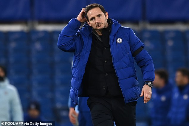 Chelsea insisted results and performances failed to match their expectations under Lampard
