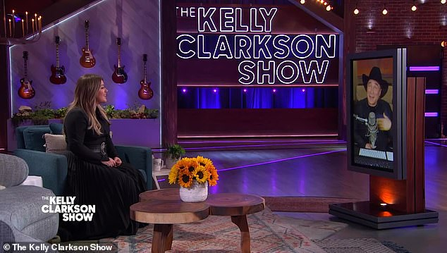 All is well: Clarkson told Black she remembers her past experiences well and noted that she was 'open to talking' on her show