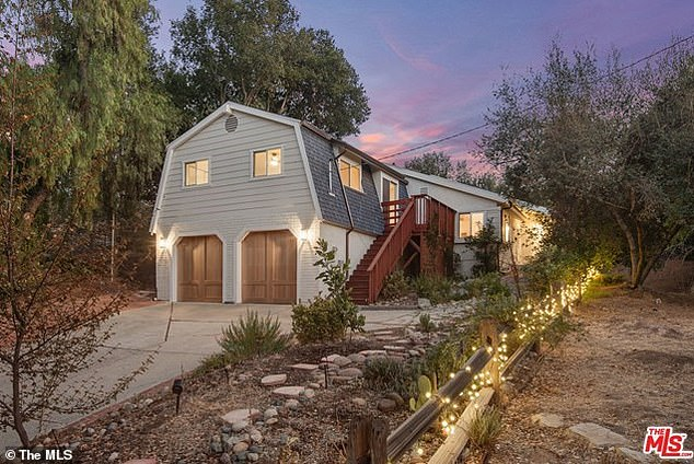 Cullors faced fierce backlash over her personal spending - including the recent purchase of a $1.4 million home in a ritzy L.A. neighborhood (pictured above)