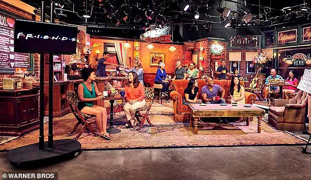 Do you really serve people sneezers? Central Perk's set is still in tact at Warner Bros, and is part of the studio tour. The real coffee house soundstage - not a replica - can be visited when the tour is open to the public [currently shut amid the pandemic]