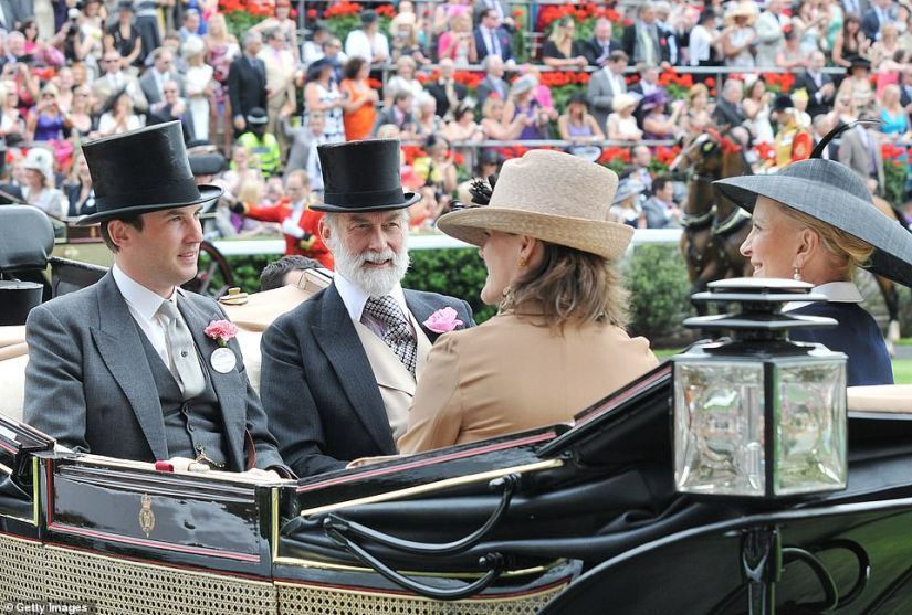 The Earl of Hopetoun, Prince Michael of Kent, The Countess of Hopetoun and Princess Michael of Kent attend Royal Ascot Day Four on June 18, 2010 in Ascot. Prince Michael may make the list of those invited