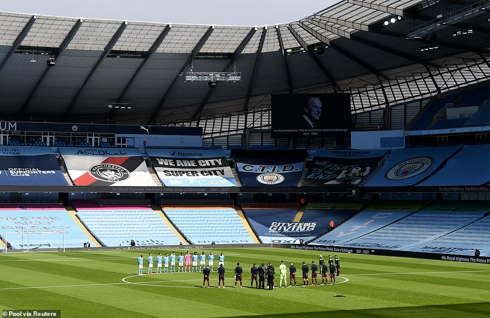 The Premier League match between Manchester City and Leeds held a two minute silence