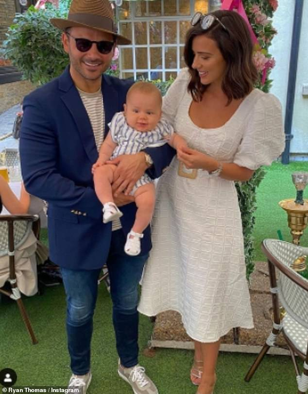 Oh dear:Ryan Thomas and Lucy Mecklenburgh's hopes for their own DIY makeover show have been dashed after they were reportedly turned down by ITV