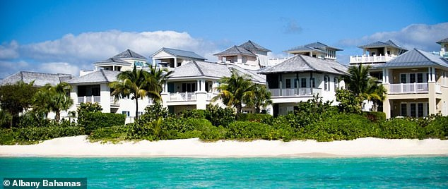 The Post reports that Cullors was also 'eyeing property at the ultra-exclusive Albany resort outside Nassau in the Bahamas where Justin Timberlake and Tiger Woods have homes'.