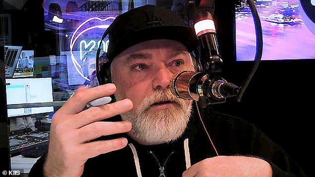 'I've been told before over the years by girlfriends, 'I'm pregnant' – it hasn't gone anywhere, unfortunately': Kyle Sandilands, 49, (pictured) lifted the lid on his rocky love life in an upcoming interview with the No Filter podcast - admitting that he's almost become a father 'three or four times'