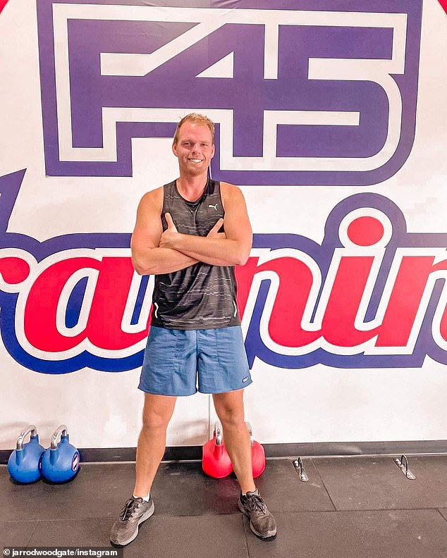 'I have struggled to cope everyday': Jarrod  also revealed he's become an ambassador for F45 gym and physical training has improved his 'mental health and well-being'