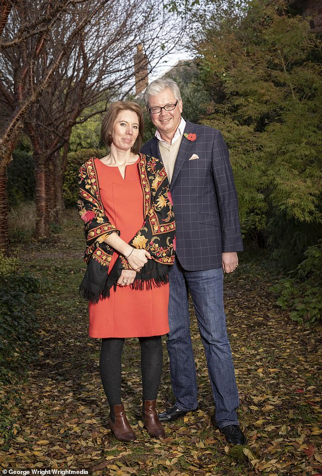 Charles Villiers, pictured with partner Heidi Innes, has accused his estranged wife Emma of 'misrepresenting' her age and being five years older when they married