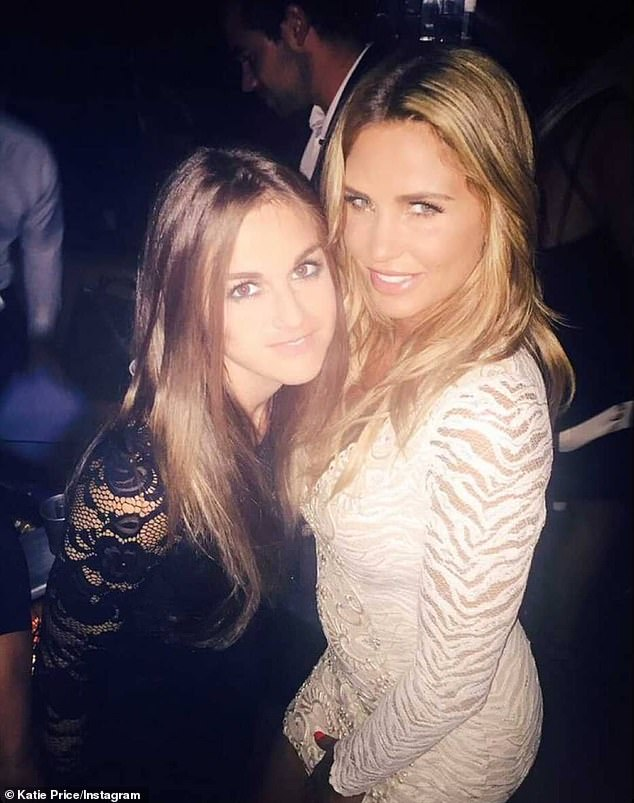 Heartbreak: Katie Price, right, has expressed heartbreak over missing a voice message from her late friend Nikki Grahame, left, before she died