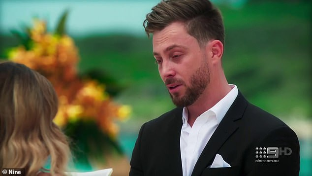 'I feel that we are in different stages of our lives':While it's unclear whether Alana will dump Jason, the sombre final shot appears to suggest the couple part ways