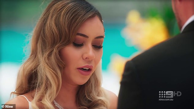 Is it over? The sighting comes as a trailer for Monday night's episode of Married At First Sight hints the future isn't looking too bright for Jason and his 'wife' Alana Lister (pictured)