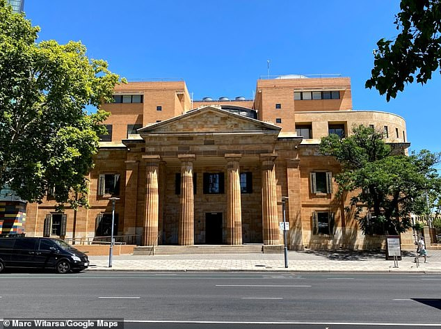 he 36-year-old western suburbs woman was arrested on Sunday was bailed to appear in the Adelaide Magistrates Court (pictured) on June 16