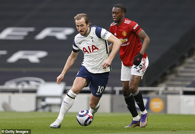 Harry Kane is next on United's list of forward targets, but not at the £120m price on the table