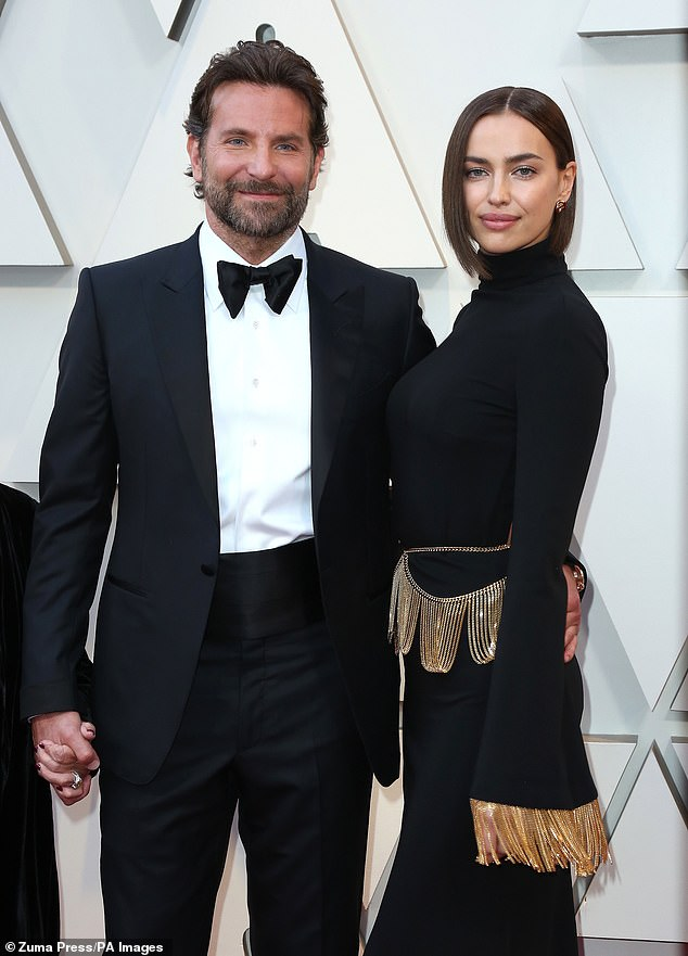Old files: The catwalk queen shares her daughter with ex Bradley Cooper, 46, who she dated from 2015 to 2019 (pictured)