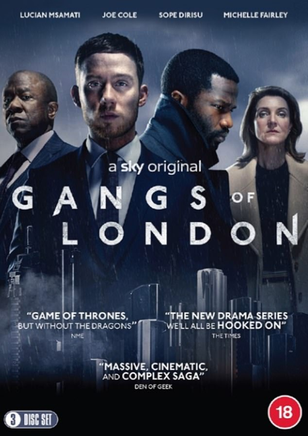 Popular:Rotten Tomatoes lists Gangs Of London as having an approval rating of 71 percent and claims it is 'one of the best show of the summer'