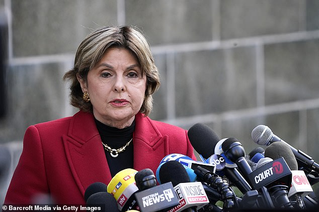 Gloria Allred (pictured), who represents two of Weinstein's five accusers, said she hopes he will appear in West Coast court soon. [File photo]