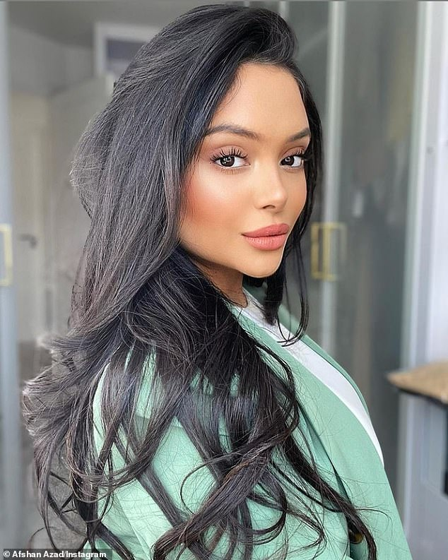 Beauty influencer: Although she has found success in her role as Padma, whose twin sister was Parvati, she now enjoys working as a beauty influencer with 173,000 Instagram followers