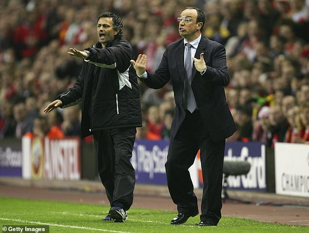Mourinho's rivalry with Rafa Benitez stemmed mainly from their Champions League battles