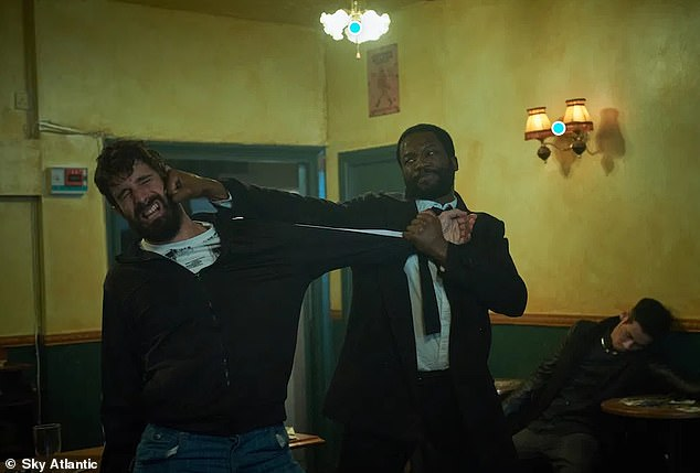 Violent: The gritty drama has seen 113 deaths in the first season already as well as harrowing scenes of torture