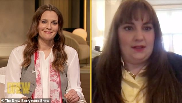 Say it all: Her post came as she became candid with Drew Barrymore about overcoming her addiction to anti-anxiety pills, along with other health issues.
