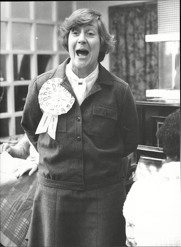 She had lost her Hitchen seat and, after Callahan was replaced by Michael Foot in 1980, quit in fury at the party's disastrous lurch leftward which would see if defeated again in 1983.