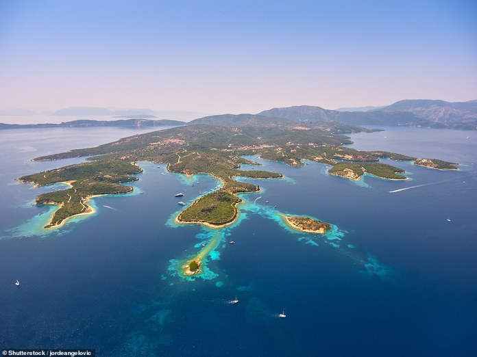 A stunning view of Meganisi. According to Dimitri Patrikios, managing director of Ionian And Aegean Island Holidays, the island has been fully vaccinated