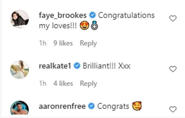 Stars: Alexandra - who plays Emma Brooker on the ITV soap opera - has been congratulated by several of her Corrie co-stars